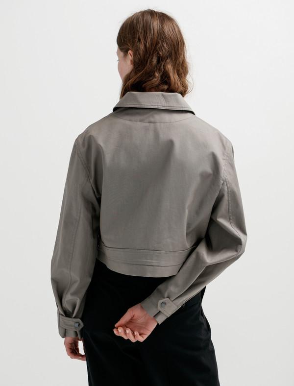 Lemaire Zipped Blouson - Stone