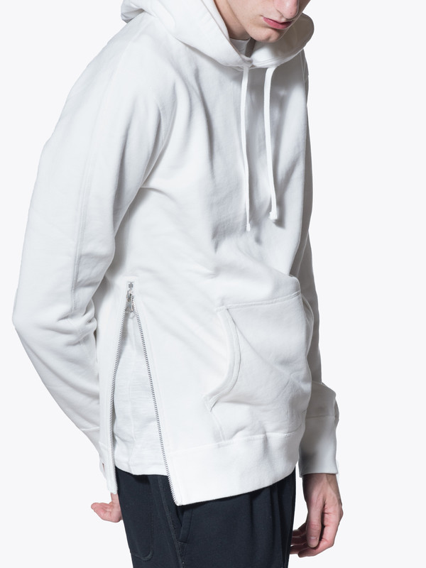 Men's Reigning Champ Knit Mid Wt Terry Side Zip Hoodie