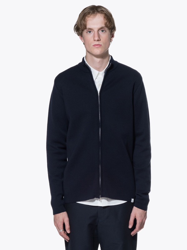 Men's Norse Projects Sigfred Fine Merino Zip