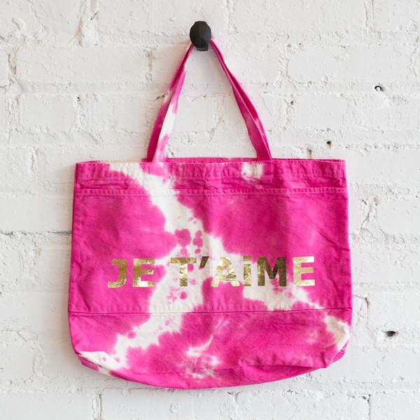 Atsuyo Et Akiko Je T'AiME Grand Canvas Bag
