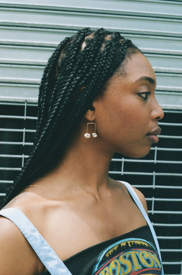 Faris Nug Balance Earrings