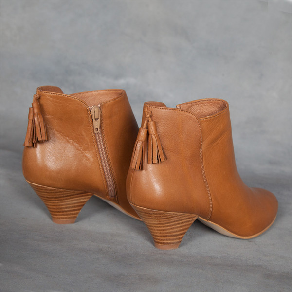 Sessun Barranco Tassel Ankle Boots