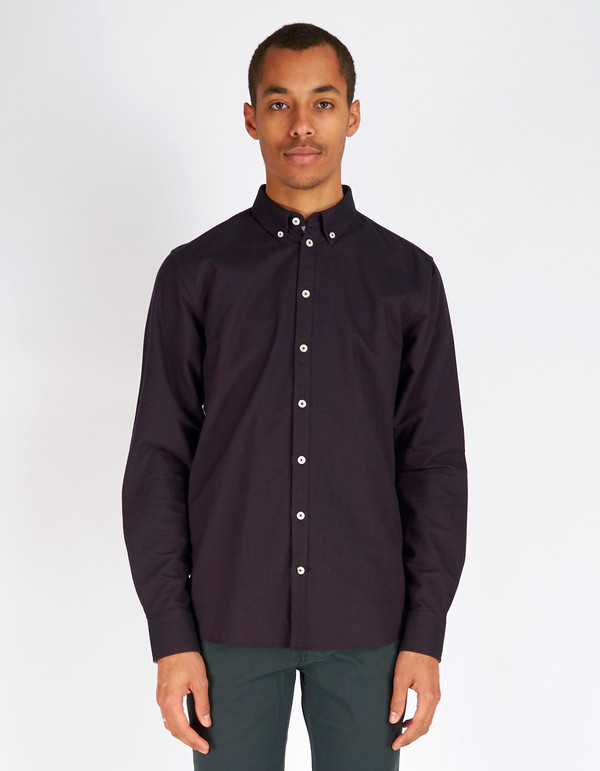 Men's Minimum Chris Shirt Plum Perfect