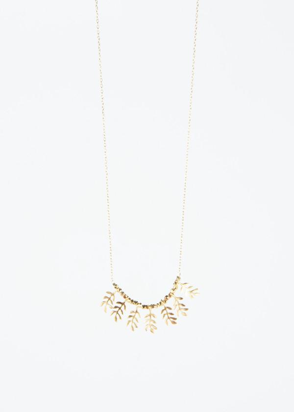 5 Octobre Tree Leaf Necklace