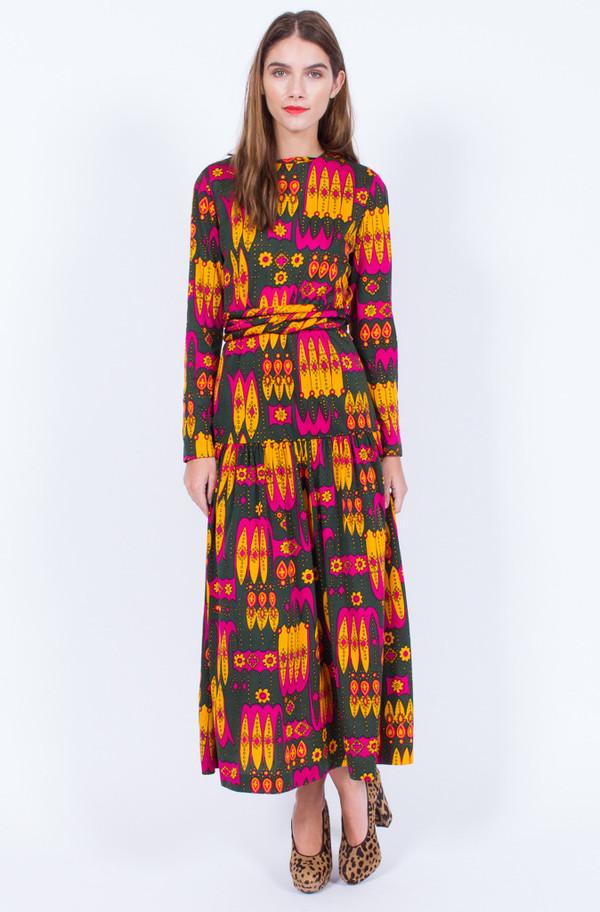 Yo Vintage! HAWAIIAN PRINT DRESS