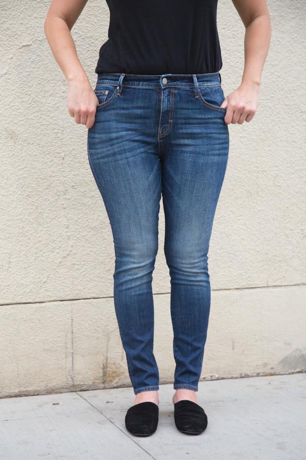 earnest sewn blake high waist skinny jean