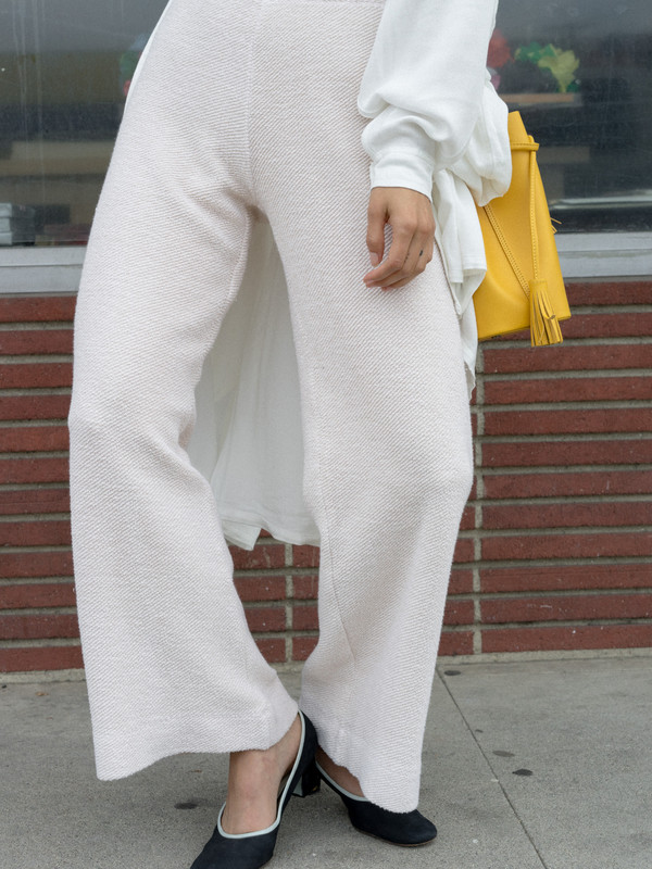 Calder Blake Clyde Wide Leg French Terry Pant
