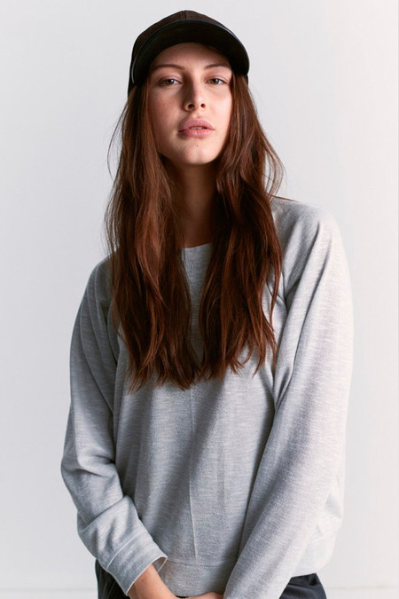 flannel foundation sweater