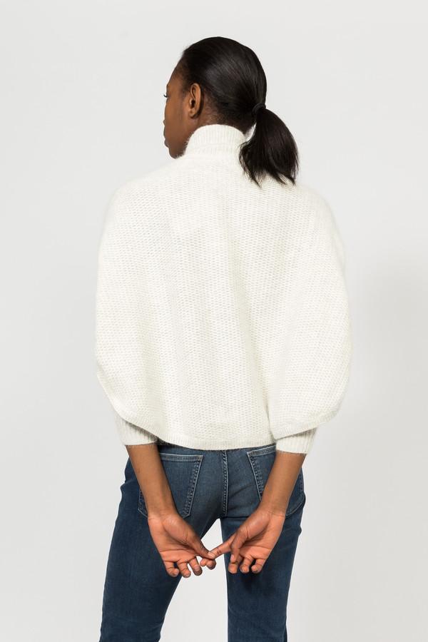 7115 by Szeki Angora Poncho Sweater