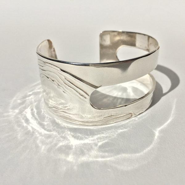 Leigh Miller Sterling Silver Cutout Bracelet