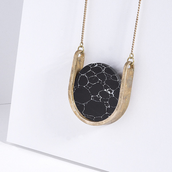Metalepsis Projects Neutron Necklace - unfinished black WEB EXCLUSIVE