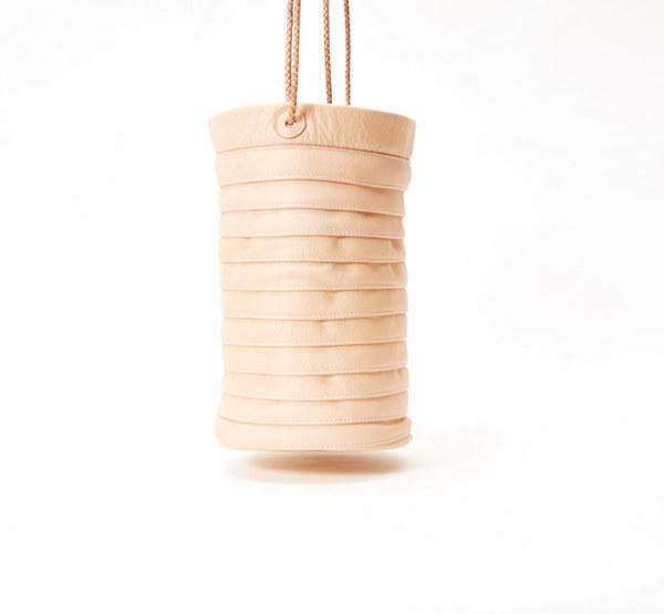 Collina Strada Solo Bag Blush Leather