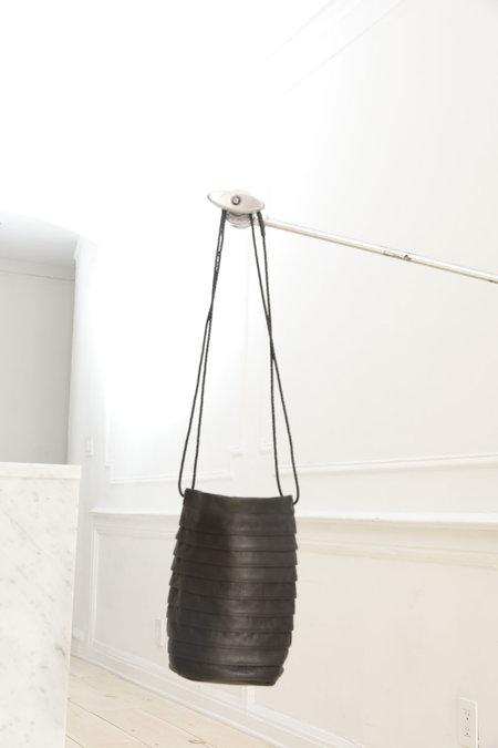 Collina Strada Solo Bag Black Leather