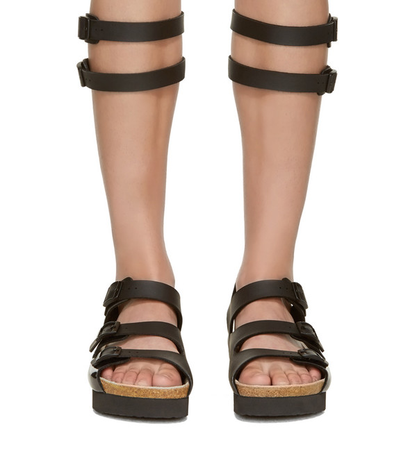 Sacai Luck Leather Multi-Strap Gladiator Sandal