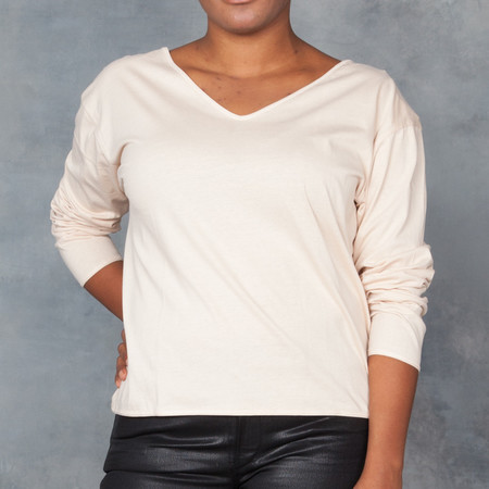 Baserange Reversible Long-Sleeve Top