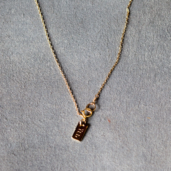 IL Design Nomad Short Horn Necklace