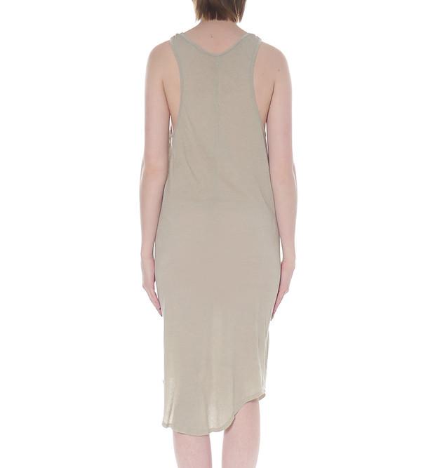 Raquel Allegra Midi Length Jersey Tank Dress