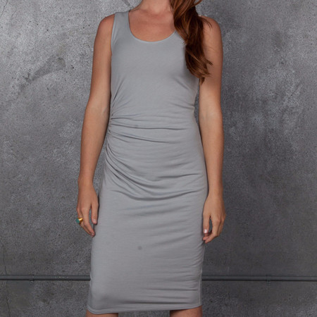 Obakki Shirred Tank Dress