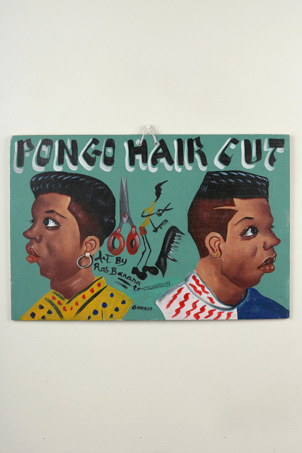 Osei-Duro Barbering sign #3