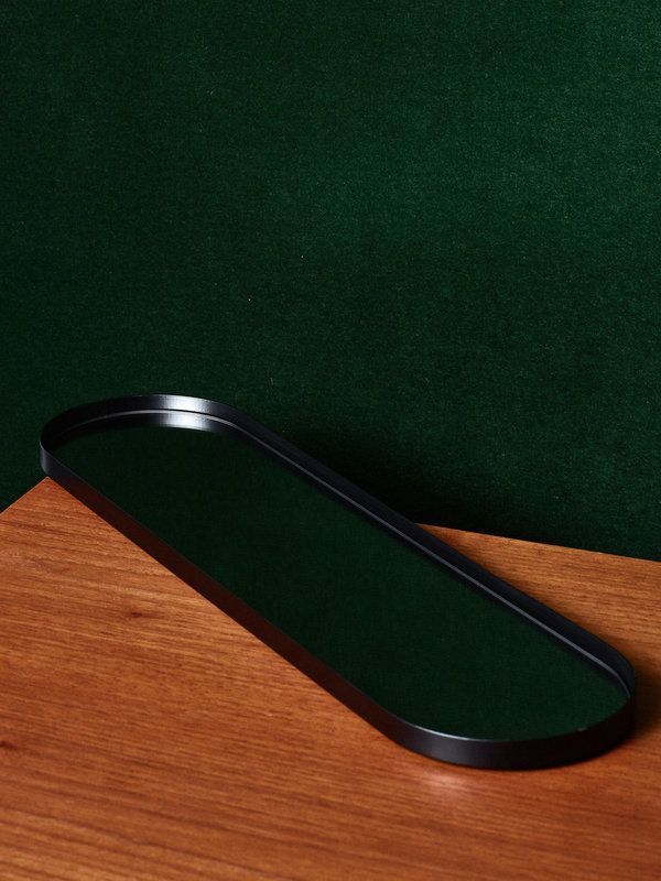 AYTM Long Mirror Tray (Black)