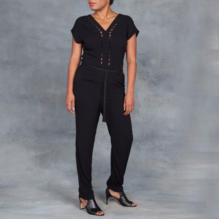Sessun Claudio Overall in Black
