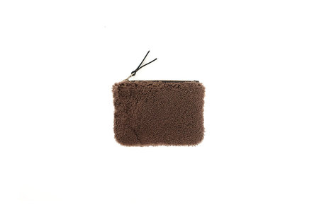 Primecut BROWN SHEEPSKIN POUCH