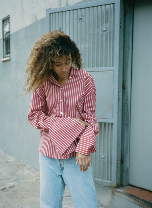 Sincerely, Tommy Striped Button Down