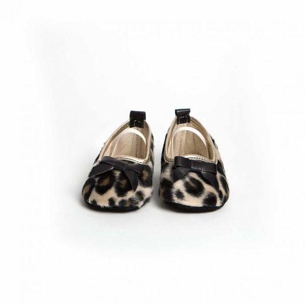 Little Lulu's Leopard Print Grace Slipper Shoes