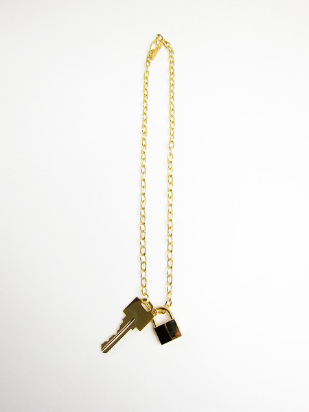 Lauren Klassen Lock and Key Necklace