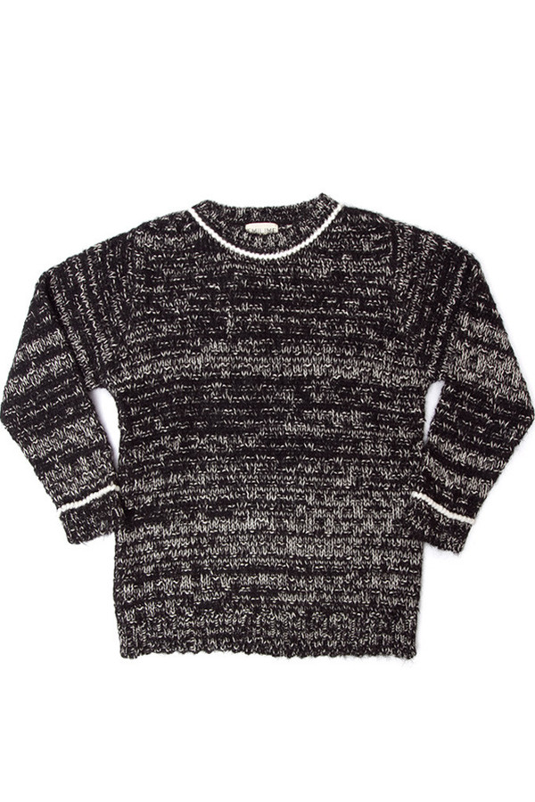 EMILIME Quin Sweater Black Mix