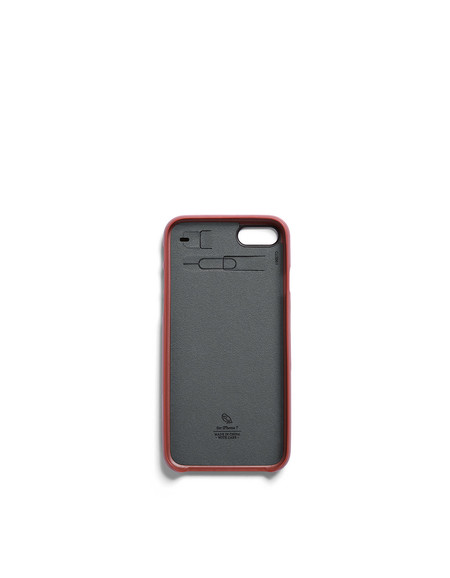 Bellroy Phone Case i7 1 Card Tamarillo