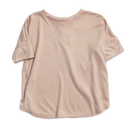 Kid's Bacabuche Wide Body Tee Blush