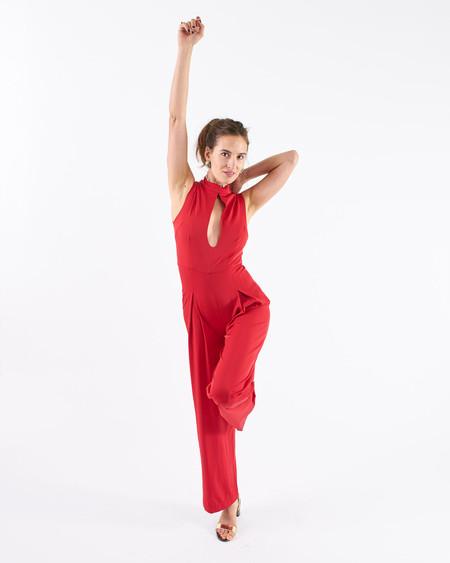 Rachel Antonoff Stacy Plunge Jumpsuit