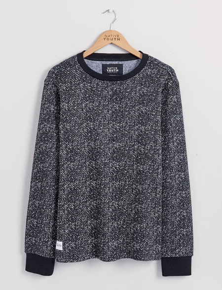 Men's Native Youth Knitted Fleece Crew