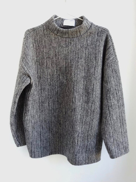 CF.Goldman Oversized Funnel Neck Sweater