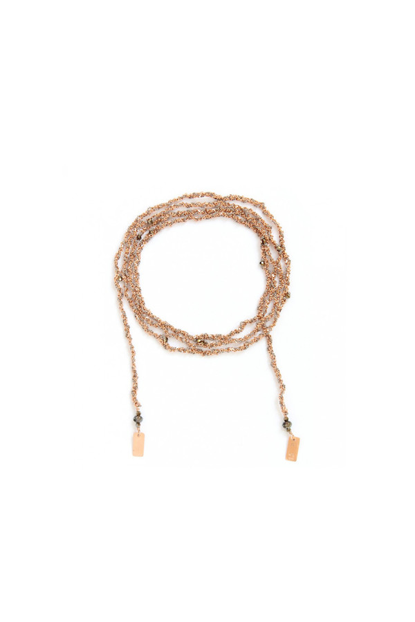 Marie Laure Chamorel Tie Necklace