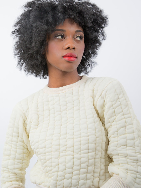 HOH Curate Vintage Puffy Sweater