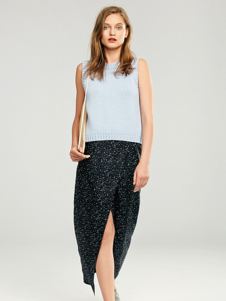 Nanushka Silk Wrap Skirt