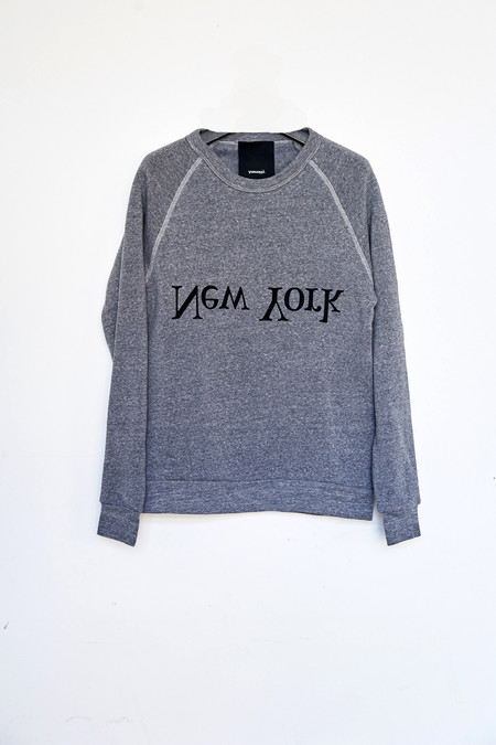 Assembly New York Cotton New York Logo Sweatshirt