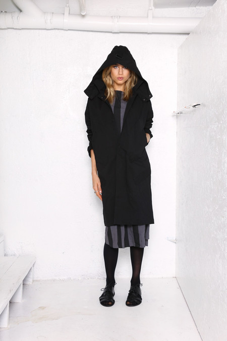 Intentionally Blank BLANT Hooded Coat