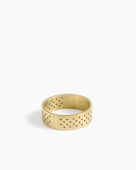 Knobbly Perforated Ring