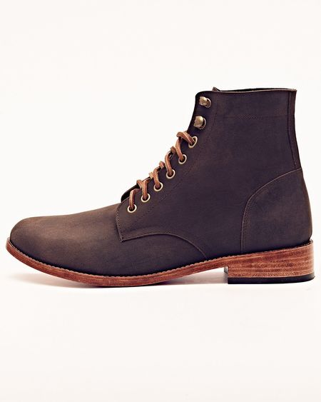 Nisolo Lockwood Trench Boot Steel