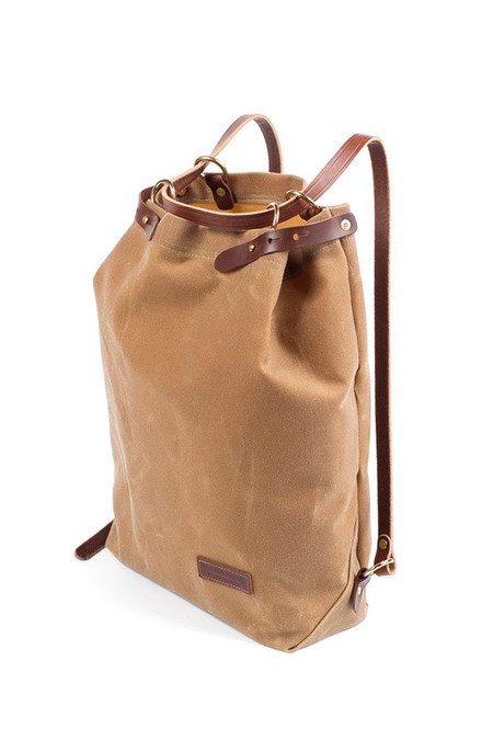 Wood & Faulk Shuttle Pack High Desert Sage