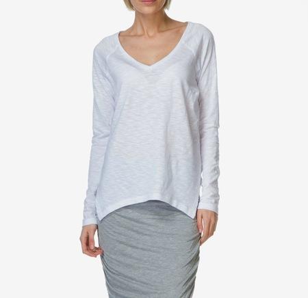 Charli London Brianne Slub Shirt