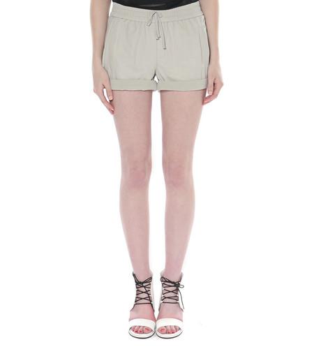 Helmut Lang Washed Leather Shorts