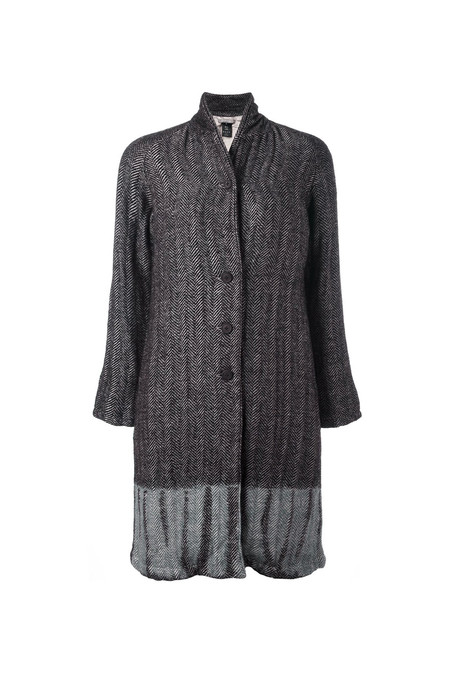 Suzusan Long Woven Coat