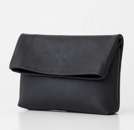 CHC Foldover Clutch - Black