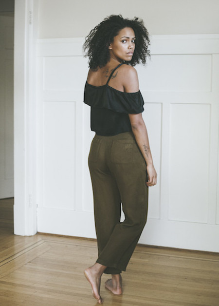 Lacausa Isabelle Trouser in Scout
