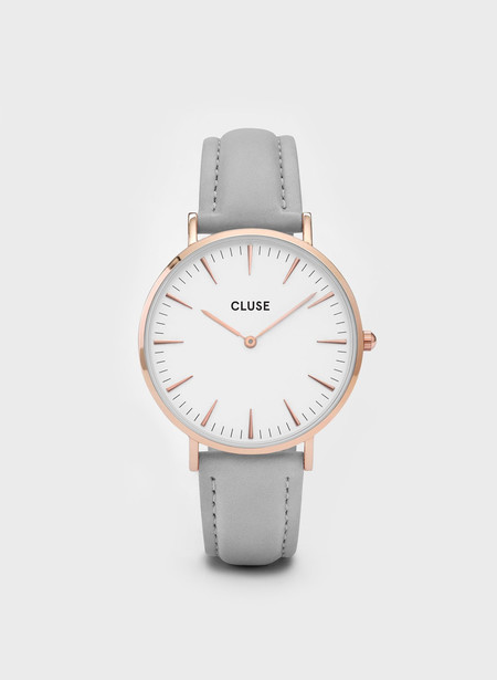Cluse La Boheme Rose Gold Watch Grey