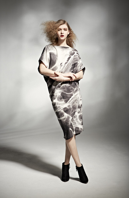 H. Fredriksson W 14 Zoe Dress Light Silk